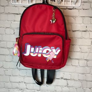 Juicy Couture Red Speed Racer 🎒 Backpack